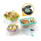 Naturehike Foldable Silicone Lunch Boxes Outdoor Camping Lunch Boxes