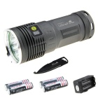 Ultrafire XM-L2 U2 9-L2 8087lm Flashlight Kit w/ Multi-tool(4 * 18650)