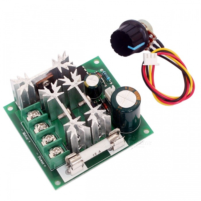 PWM DC 6V~90V 15A Motor Speed Control Switch
