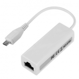 BSTUO Micro USB To RJ45 LAN Ethernet Network Card Adapter
