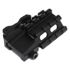 Tactical Quick Release Mount Adapter fit 20mm Picatinny Rail Base