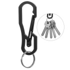 FURA Wire-Electrode Cutting Stainless Steel Carabiner Keychain