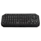 2.4G Mini Wireless Keyboard Air Flying Mouse - Black