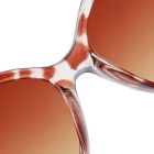 Women's Luxury Jade Crystal Texture Gradient Sunglasses - Brown