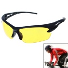 Men's Explosion-proof Outdoor Cycling Sunglasses - Yellow + Black