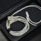 KZ Cable 2-pin 0.75mm Upgraded Silver Plated Cable Earphone Cable