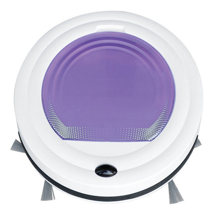 Limpia Inteligente Robot Aspirador Sweeper - Purple (US Plugs)