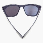 Men's Classic Cool Black Box Coating Sunglasses - Black + Silver