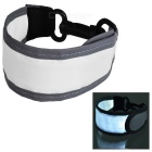 CTSmart Outdoor Sports Luminous Reflective Hanging Belt - White