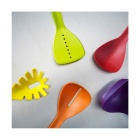 Stylish Silicone Kitchen Utensils Spoon Set - Multicolor