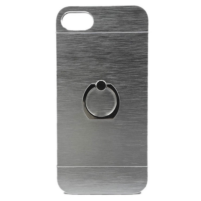 reputable site 604f5 2cf38 360 Degree Rotary Finger Ring Stand Holder Case for IPHONE 7 - Silver