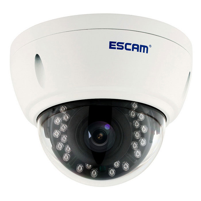 ESCAM Dome QD420 H.265 4.0MP Security CCTV Camera (EU Plug)