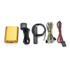 4G Vehicle GPS Tracker MT600 Support FDD LET Network - Gold