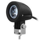 exLED Waterproof 10W 800lm 6500K Cold White LED Car Work Light