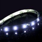 Waterproof 15-LED 3W Flexible Light Strip - White Light (30cm / 12V)