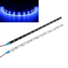 Buy Waterproof 30cm 15-5050 SMD LED Blue Light High Power Car Auto Decor Flexible Strips (12V)