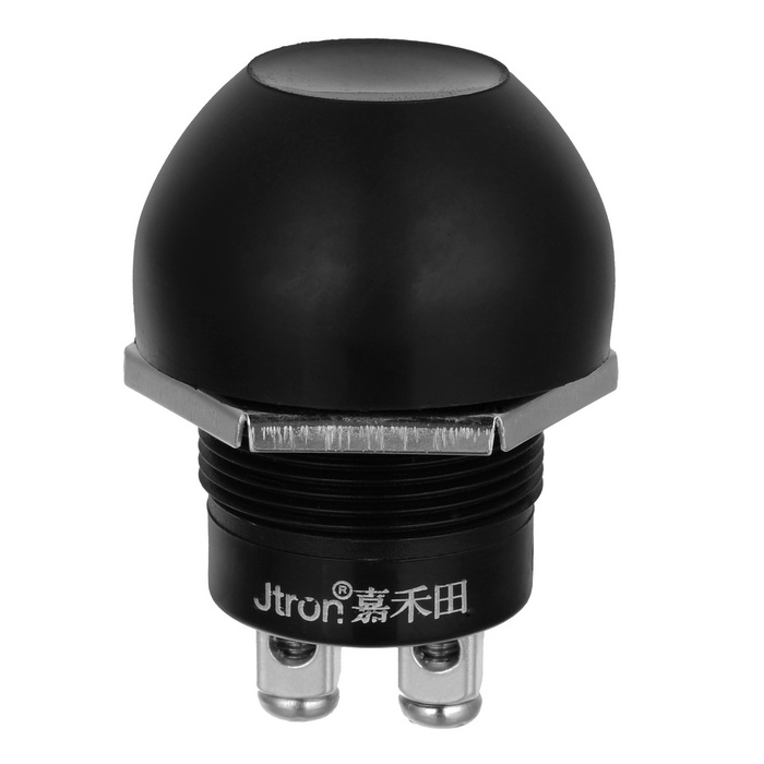 Jtron Waterproof Auto Off (on) Push Button Switch (12~24V/10A)