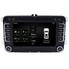 "Funrover 7"" Android OEM Car DVD Player w/ 1024*600 GPS for VW Golf"