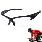 Men's Explosion-proof Outdoor Cycling Sunglasses - Transparent + Black