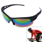 Men's Explosion-proof Outdoor Cycling Sunglasses - Black + Purple