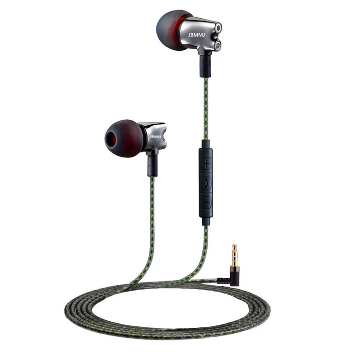 S800 3.5mm Plug In-Ear Earphones - Iron Grey