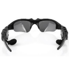 SZKINSTON Smart Digital Sport Bluetooth Stereo Headset Glasses - Black