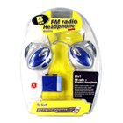 2-in-1 RF Stereo Wireless Headphone with Radio for Gameboy Advance SP