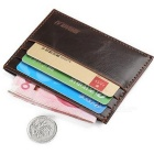 JIN BAO LAI C022-C023 Men's Wallet w/ Card Slots - Deep Coffee