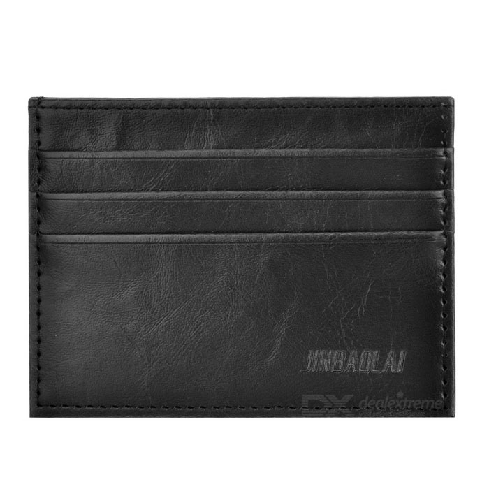 JIN BAO LAI C022-C023 Men's Wallet w/ Card Slots - Black
