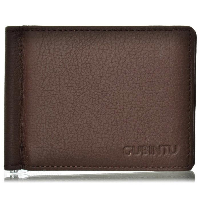 GUBINTU 6018# Mens Top Leather Wallet w/ Card Slots - CoffeeWallets and Purses<br>Form ColorCoffeeModel6018#Quantity1 DX.PCM.Model.AttributeModel.UnitShade Of ColorBrownMaterialTop leatherGenderMenSuitable forAdultsOpeningOthers,Folding + zipperStyleFashionWallet Dimensions11cm*8.5cm*1cmOther FeaturesWith six card slots, one money slot, one coin pocket and two hidden pocket; Fashionable and concise; Comfortable and soft material; Convenient to use.Packing List1 * Wallet<br>