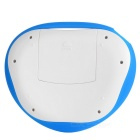 Mini Wireless Air Flying Keyboard Mouse w/ Touch Panel - Blue + White