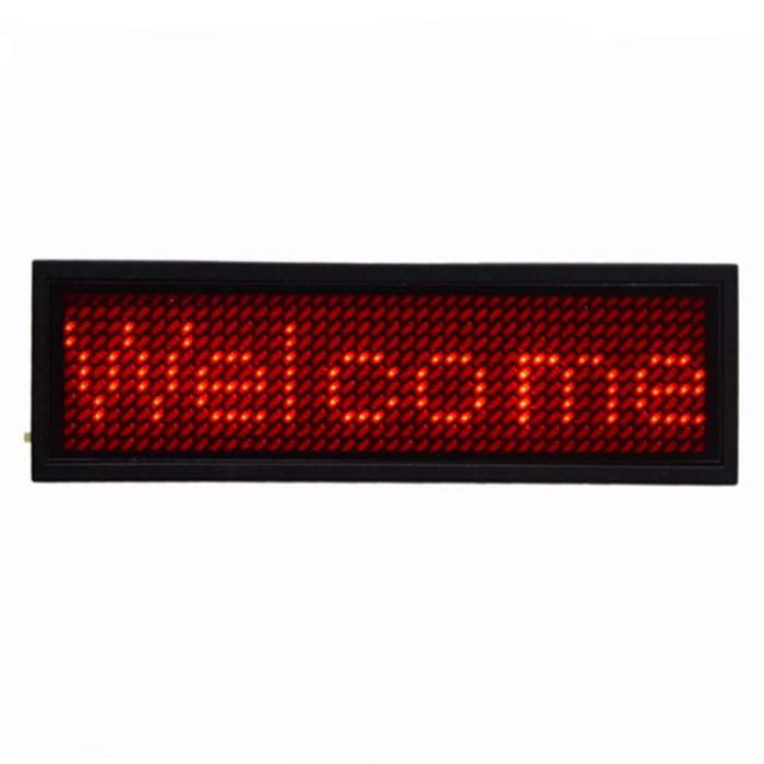 Professional PVC Red LED Plate - White + Yellow (AC 110~220V)