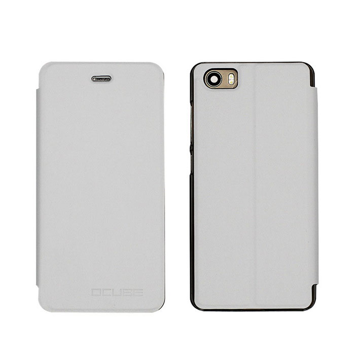 OCUBE PU Leather Case for Bluboo Picasso  Mobile Phone - White
