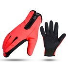 Windproof Warm Waterproof Anti-slip Damping Long Finger Gloves Support Touch Screen