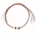 Subminiature Slip Ring OD 8.5mm 12Circuit For UAV/ Brushless Gimbal