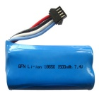 UDI902 UDI002 7.4V 1500mAh Li-polymer Battery - Blue
