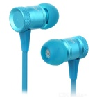 Ovleng ip-370 Universal 3.5mm Plug Wired In-Ear Earphones - Blue