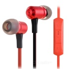 Ovleng S9 Bluetooth Stereo Subwoofer Phone Headset Earphone - Red