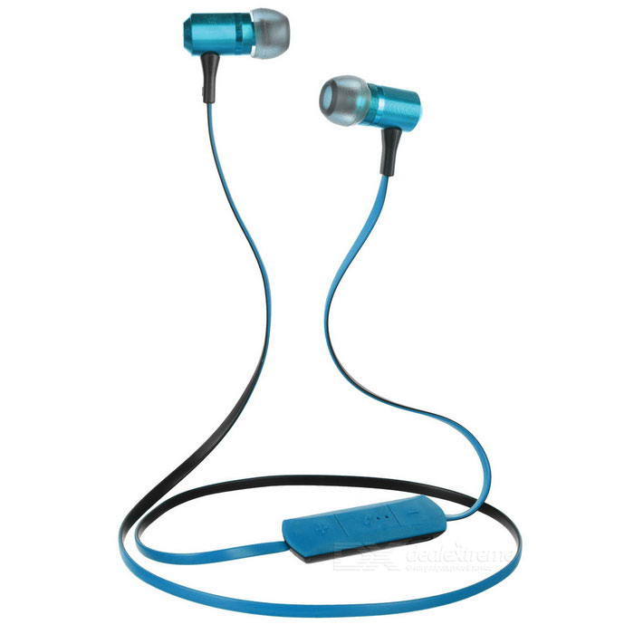 Ovleng NS9 Bluetooth Stereo Subwoofer Phone Headset Earphone - Blue