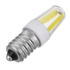JRLED E14 Dimmable 4W 400lm COB LED Cold White Light Ceramic Bulbs