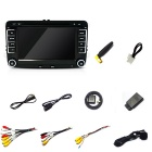 "funrover LST001 7"" 1024 * 600 quad-core android DVD player do carro para a SEAT"
