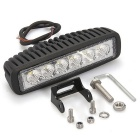QooK JHVY73 18W 6-LED Off Road Work Flood Light Lamp Cold White Light