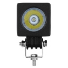 exLED 10W Waterproof LED Car Work Light Cold White 6500K 800lm