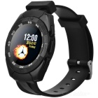 KICCY MTK2501 Bluetooth V4.0 Smart Watch w/ Compass, Barometer - Black