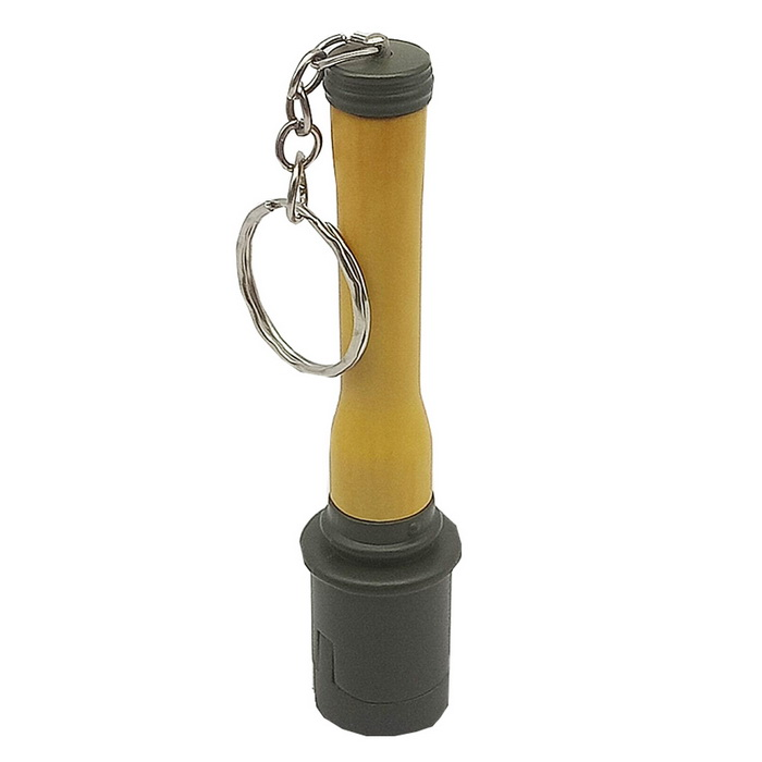 Creative Grenades Style Toy with Mountaineering Buckle Plastic - Brown