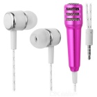 Noise Cancellation, Clear Sound Earphone Speaker for Karaoke / Mobile Phone