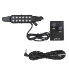 Guitar Sound Holes Pickup w/ Volume Controller - Black