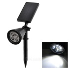 Solar Powered Waterproof 2W 180lm LED Garden Yard Lawn Lamp