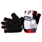 Outdoor Breathable Shock Mitigation Half-Finger Cycling Gloves
