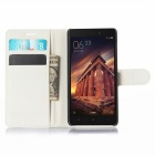 Lichee Pattern Protective Case for  Xiaomi Redmi 3 - White